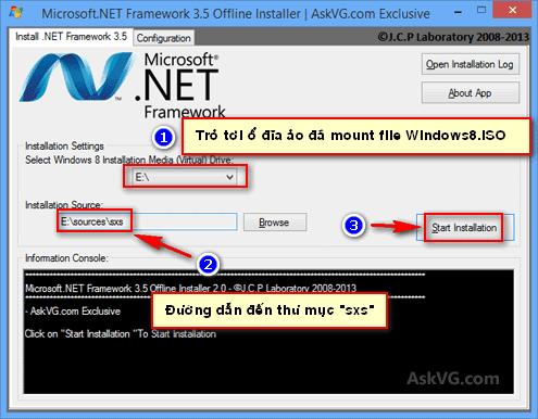 download net framework 3.5 windows 8 offline installer