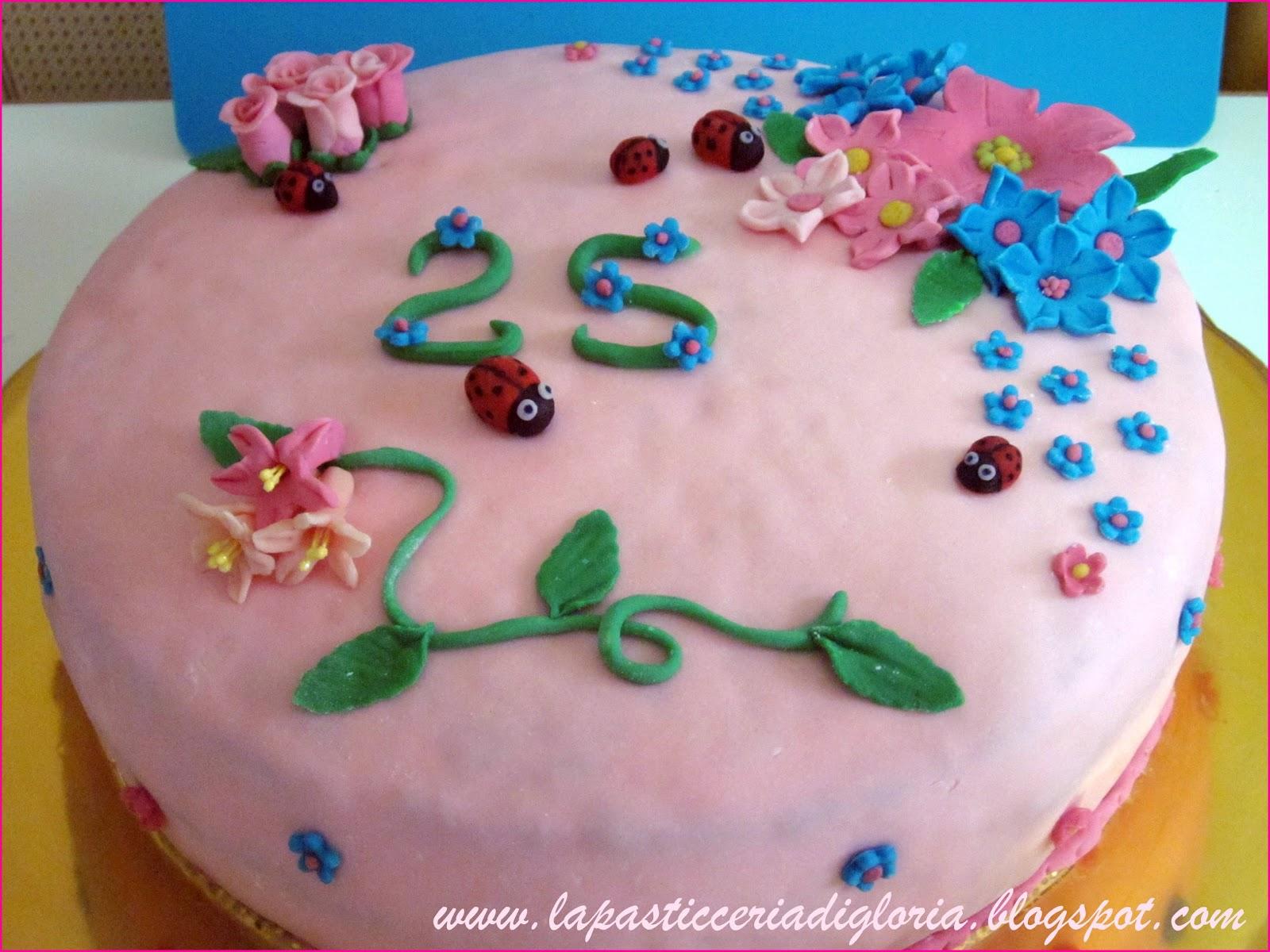 Preferenza La pasticceria di Gloria: Una torta per i miei 25 anni RE77
