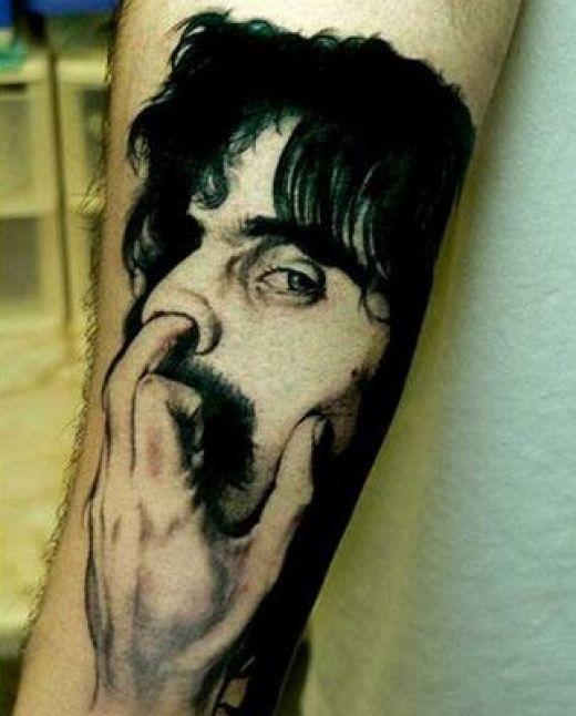 funny tattoo. gabriel garko tattoo. funny