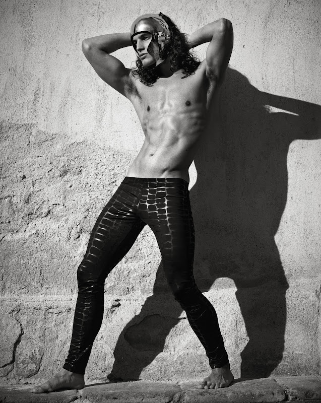 Travis Cannata by Mariano Vivanco, Hercules #10, 2011 (outtake)