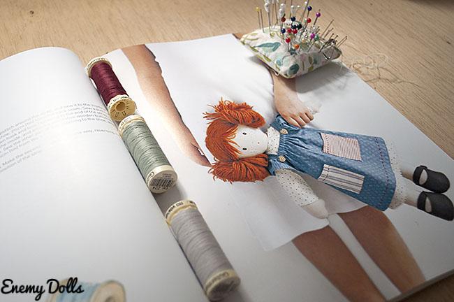 My Rag Doll - reseña de libro de muñecas de trapo en español
