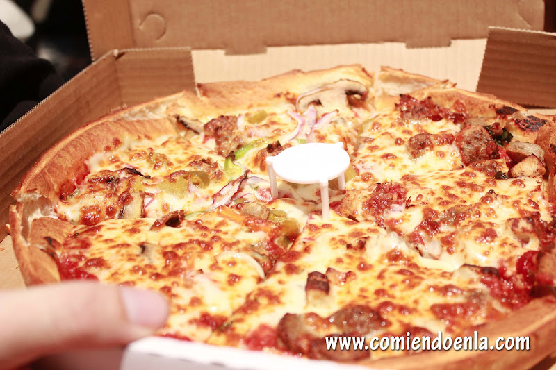 Pizza Terminada