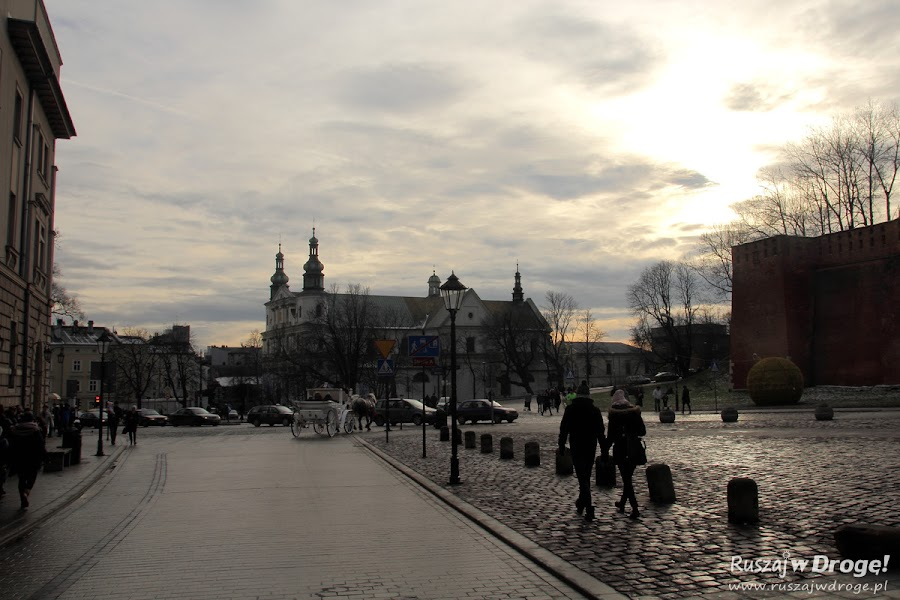 Droga Królewska w Krakowie