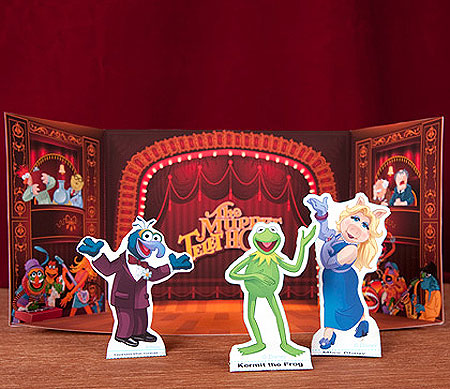 The Muppets Theater Papercraft Playset