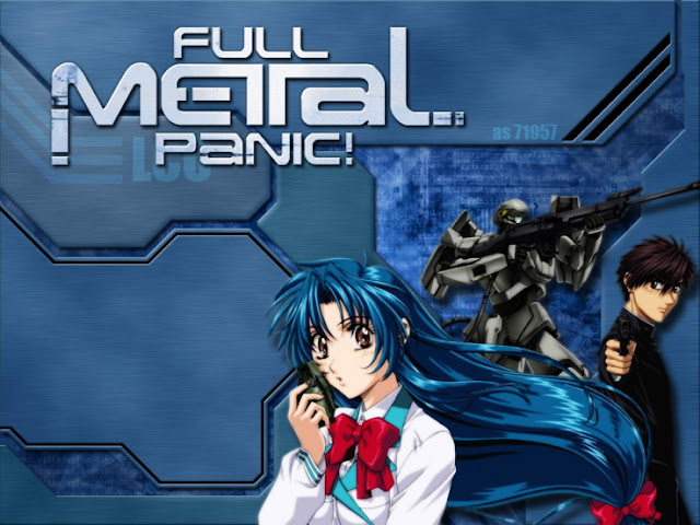 full metal panic Full Metal Panic! [ Subtitle Indonesia ]