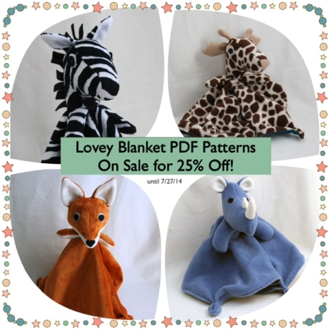 Tangible Pursuits Summer Sale: All Patterns 25% off on my Craftsy store