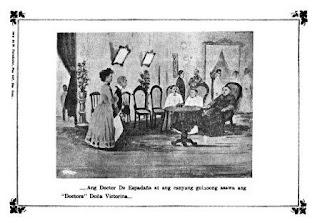 Noli Me Tangere ISANG PAGKAKAPISAN-Doctor de Espadaña at Doctora Doña Victorina