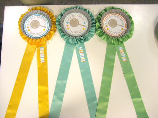 These ribbons are ready to award the Google winners!