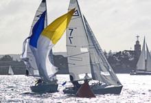 J/22s match racing in California series