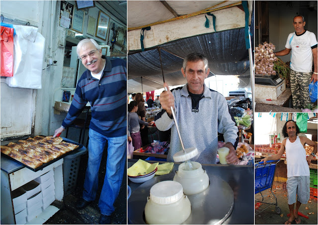 people of souk ramle (ramle market, israel)