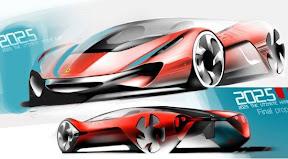 Imagenes del Futuro Ferrari coche deportivos