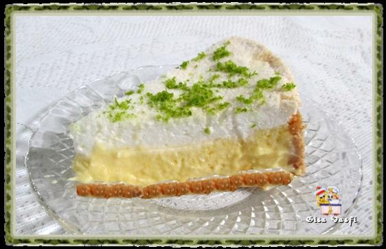Torta de limão aerada 2