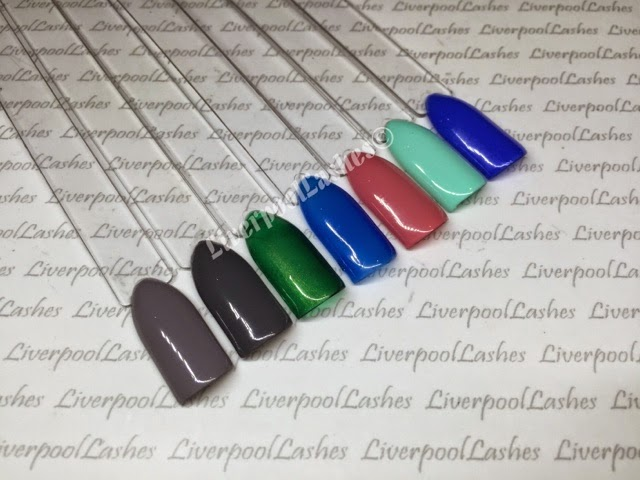 LiverpoolLashes Beauty Blog: New INK London iLac Swatches