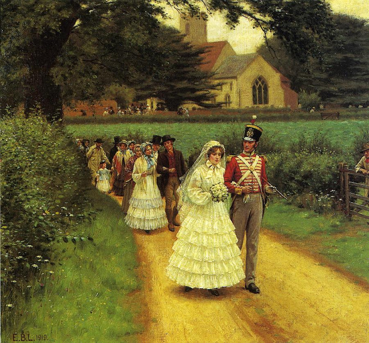 Edmund Blair Leighton - The Wedding March