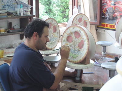 Italian hand painting