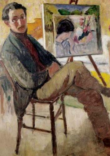 Jean Puy - Autoportrait