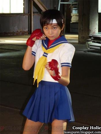 street fighter iv - kasugano sakura by takada hikari