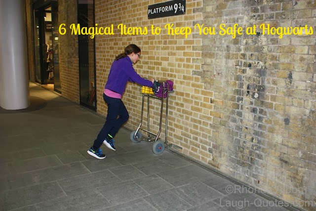 Kings Cross Station - 6 Magical Items to Keep You Safe at Hogwarts