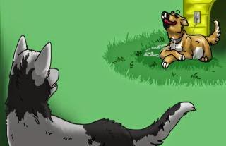 fabula el perro y el lobo