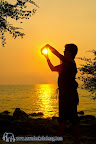 Sunset at Chai Chet cape