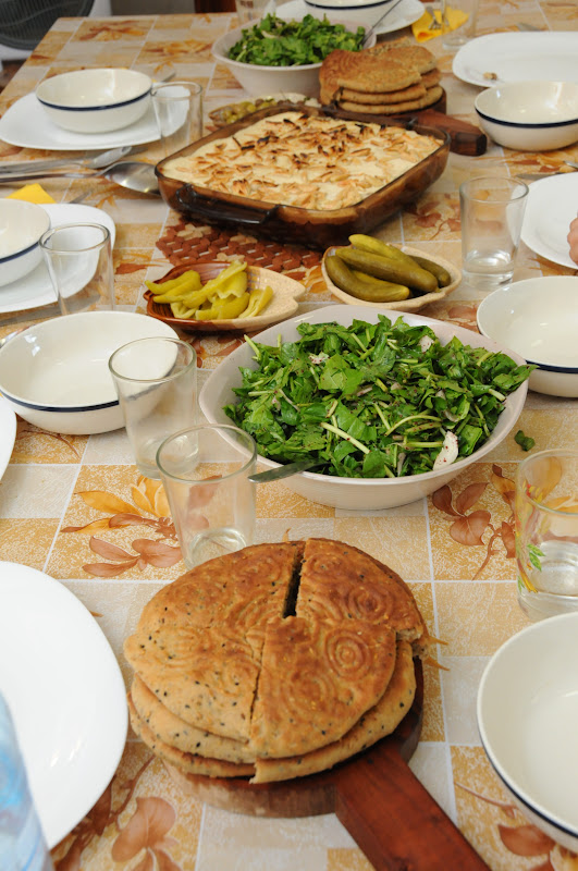 Arabic food in Nazareth