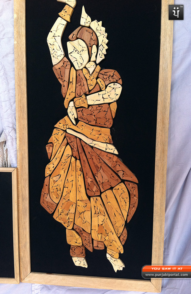 Mosaic Art, Stencil Art Exhibition Hand craft fair