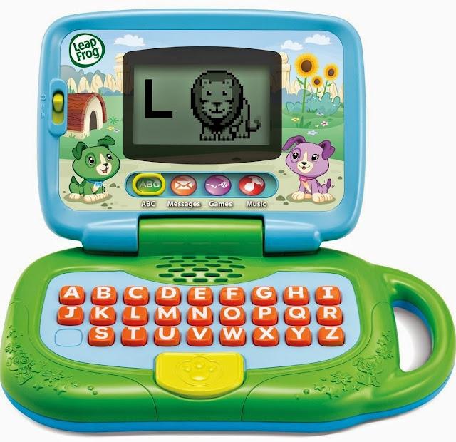 Chiếc laptop của bé - Leapfrog màu xanh lá
