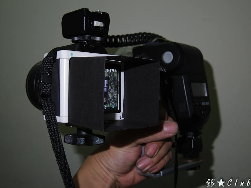 K-01 手把+閃燈架+遮光罩