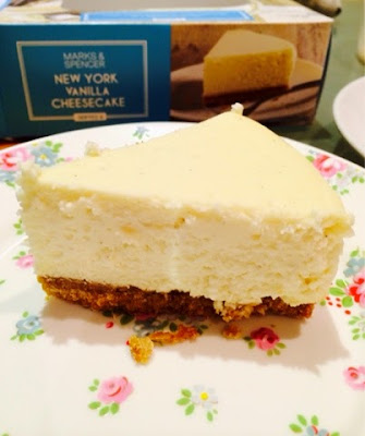 New York Vanilla Cheesecake