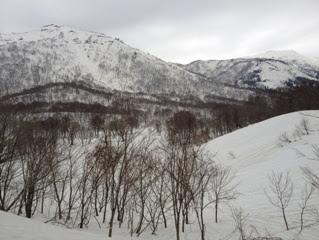 野伏ヶ岳と薙刀山