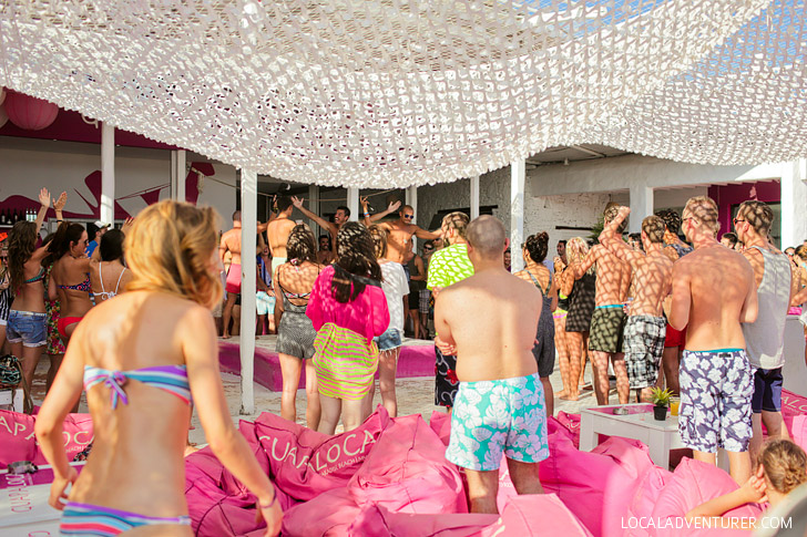 Paradise Beach Mykonos Greece (Best Party Beach in Mykonos).