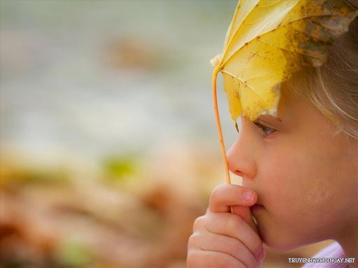 Hình Ảnh Dễ Thương Những Em Bé Trong Mùa Thu