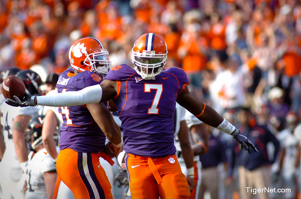 Clemson vs. Virginia Photos - 2009, Football, Ricky Sapp, Virginia