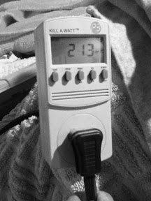 Kill-A-Watt electric meter