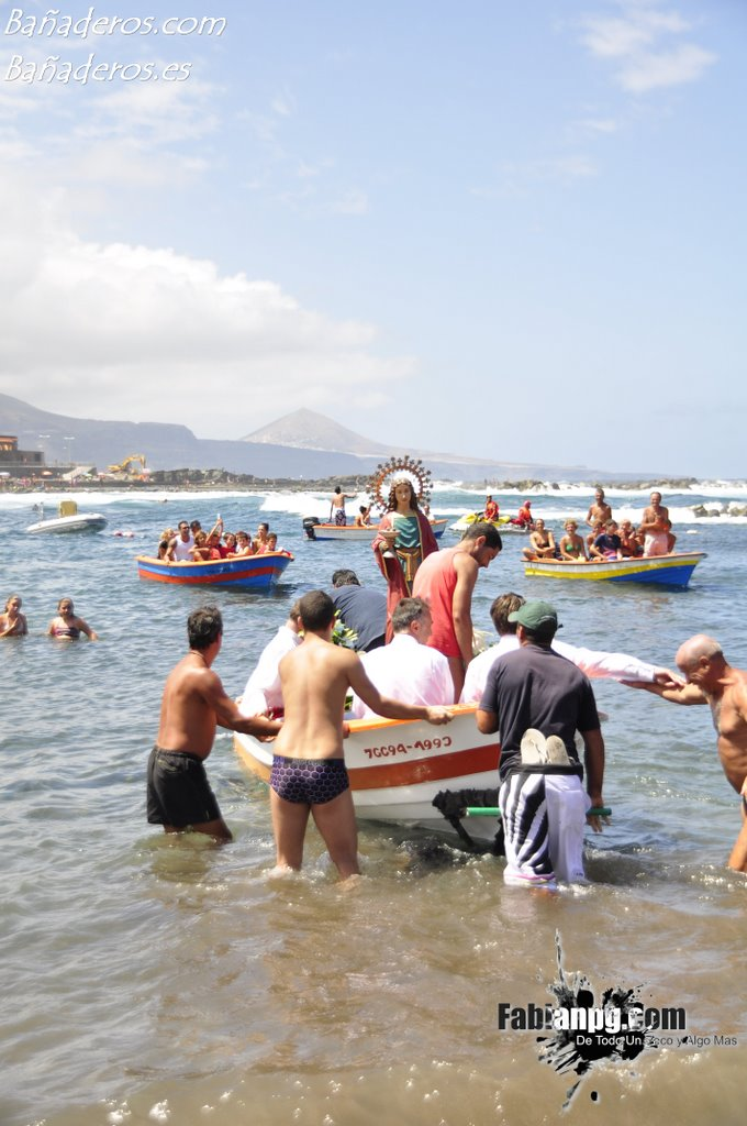 Procesión Marítima Santa Lucía 2011 El Puertillo