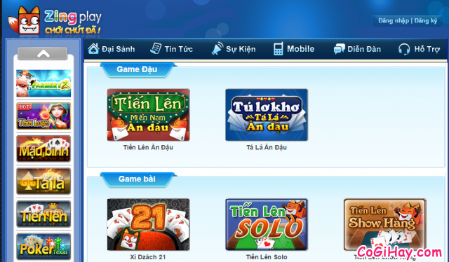 tải zing play client