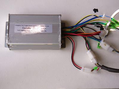 Montage d'un Dirtsurfer électrique 36V 800W Electric_dirtsurfer_control