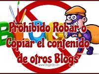 ¿Cómo Denunciar las copias o plagio de contenido de nuestro Blog?