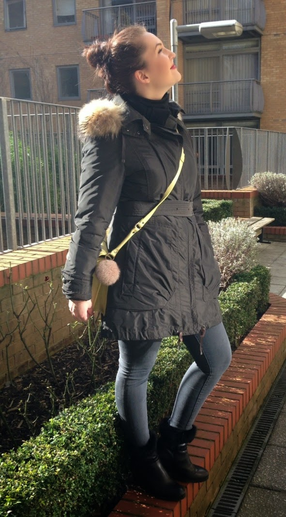 Olive with a touch of Yellow - Spring Outerwear