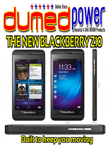 The New Blackberry Z10 - Built to keep you moving