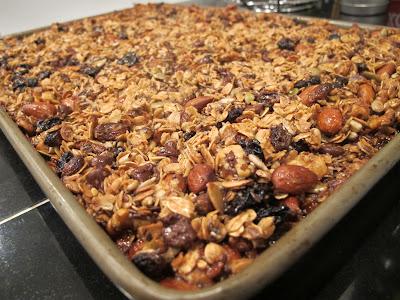 toasted granola bars