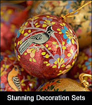Luxury handmade Christmas decorations