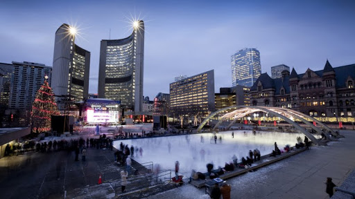 Cavalcade of Lights, Phillips Square Rink at City Hall, Toronto, Canada.jpg