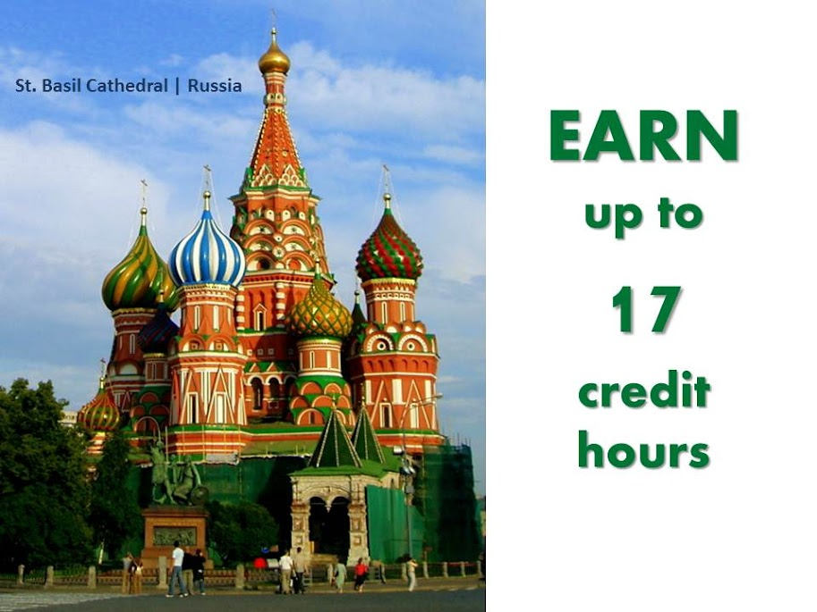 Earn up to 17 hours of credit