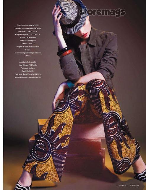 belleville-bamako - L'Officiel Paris - febrero 2012