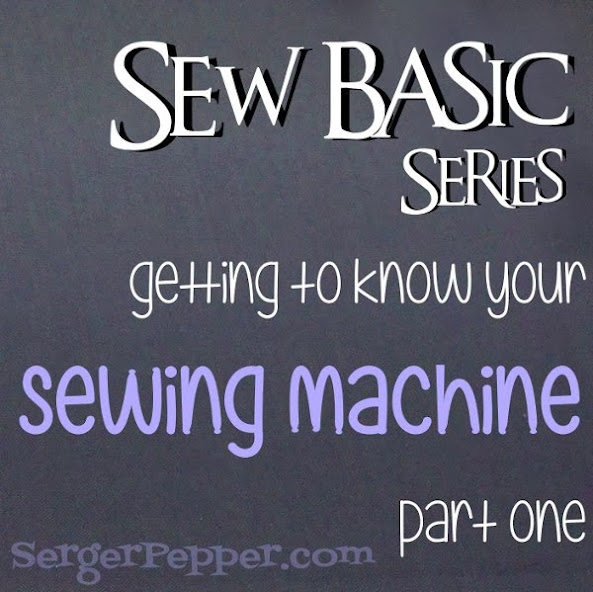 Serger Pepper Sew Basic Series Sewing Machine Title