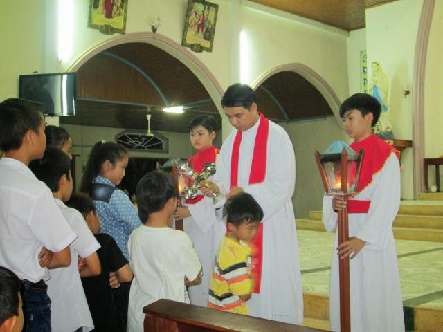Tam Nhật Thánh tại Giáo xứ Thanh Điền, Giáo hạt Ninh Hải