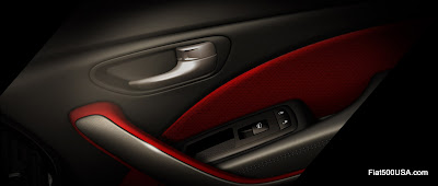New Dodge Dart door panel detail