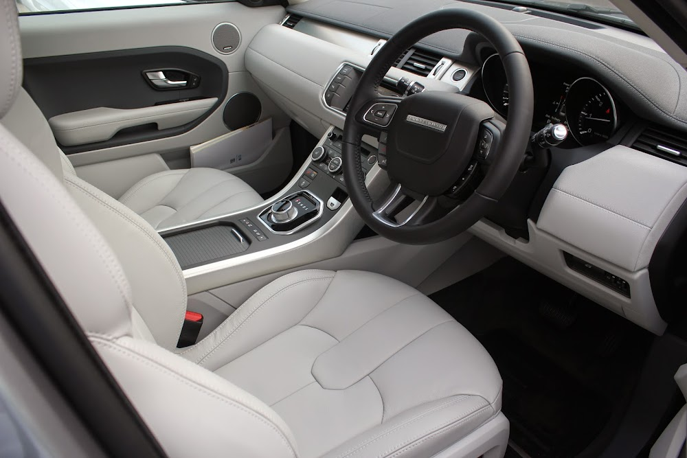 Leather seats light or dark range rover evoque forums - Range rover with red leather interior ...
