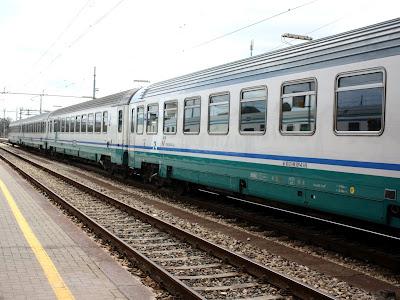 Train in Ravenna Italy